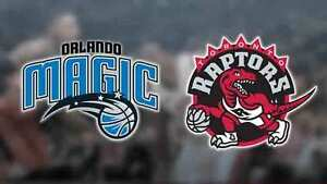 RAPS VS MAGIC Mon Mar 27 - (Sc310 Row3) Center Crt 2 Aisle Seats