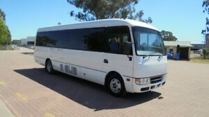 2014 Mitsubishi Fuso Rosa BE64D Base White 6 Speed Automatic Bus Condell Park Bankstown Area Preview