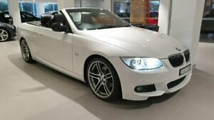 2013 BMW 3 Series White Sports Automatic Convertible Sylvania Sutherland Area Preview