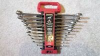 10 piece SAE wrench set