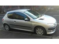 """""""IDEAL FIRST CAR"""" 1Yr MOT PEUGEOT 206 1.2 3DR