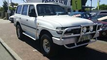 1993 Toyota Landcruiser HZJ80R GXL White 5 Speed Manual Wagon Victoria Park Victoria Park Area Preview