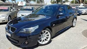 2006 BMW 530i E60 MY06 Upgrade Black 6 Speed Steptronic Sedan Maidstone Maribyrnong Area Preview
