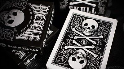 Sealed Bicycle Skull Deck Playing Cards New Design