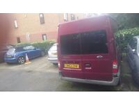 BREAKING SALE! SALE! Ford transit minibus camping van. Insulated. Spares or repairs engine