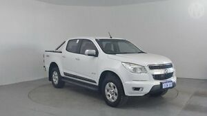2012 Holden Colorado RG LTZ (4x4) White 6 Speed Automatic Crew Cab P/Up Perth Airport Belmont Area Preview