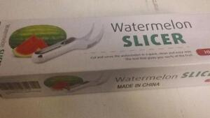 Watermelon Slicer & Serving Tongs BRAND NEW