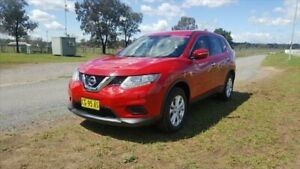 2015 Nissan X-Trail T32 ST (FWD) Burning Red Continuous Variable Wagon Muswellbrook Muswellbrook Area Preview