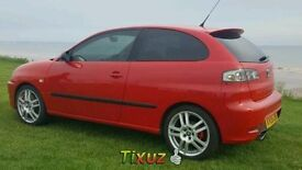 SWAP MY SEAT IBIZA CUPRA 2006 EMOTION RED 5 ALLOYS MOT APRIL 70K MAPPED TO 235BHP YOKOHAMAS £3K ONO