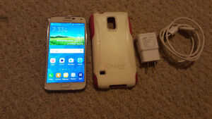 MINT WHITE Samsung Galaxy S5 LTE with Otterbox case & more