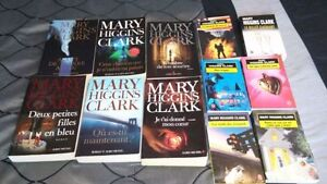 Collection livre Mary Higgins Clark. 30