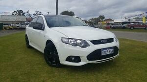 2012 Ford Falcon FG MK2 XR6 White 6 Speed Auto Seq Sportshift Sedan Maddington Gosnells Area Preview