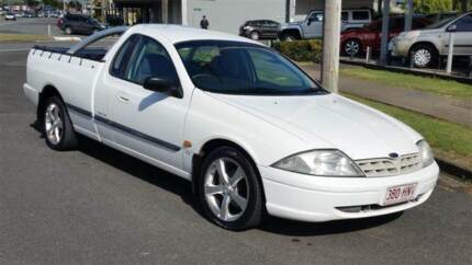 2001 Ford Falcon Ute - 5 Speed Manual with 1 Year Warranty Westcourt Cairns City Preview