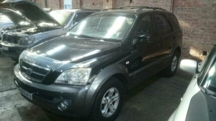 2005 Kia Sorento BL 05 Upgrade Black 5 Speed Tiptronic Wagon Georgetown Newcastle Area Preview
