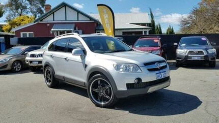2009 Holden Captiva CG MY10 LX AWD 7 Seater Silver 5 Speed Automatic Wagon