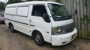 2002 Mazda E2000 SH92 (SWB) White 5 Speed Manual Van Wentworthville Parramatta Area Preview