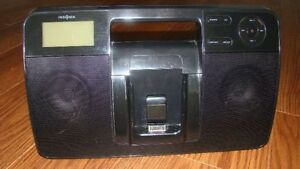 Boombox with AM/FM Radio and Apple iPod Dock