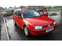 BARGAIN VW GOLF LIMITED 1.6 Economical & Reliable! Cheap tax, insurance! (no audi bmw a3 a4 opel)