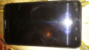 SAMSUNG GALAXY NOTE 1 16GB UNLOCKED WITH CRACKED SCREEN INLUDING