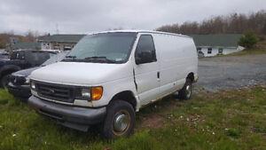 NO MVI 2004 Ford E-250 not mvi'd Minivan, Van , as is where is