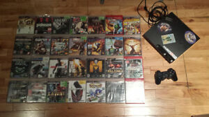 PlayStation 3 - 2 Controllers - 31 Games (Great Christmas gift!)
