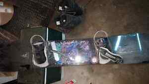 Burton mens snowboard with Boots and Bindings