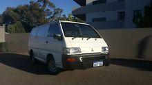 2002 Mitsubishi Express SJ00 SWB White 5 Speed Manual Van Victoria Park Victoria Park Area Preview