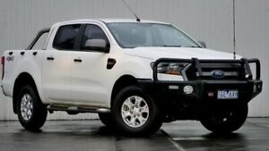 2015 Ford Ranger PX MkII XLS 3.2 (4x4) Cool White 6 Speed Automatic Dual Cab Utility