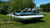 ~ FISHING PONTOON AND TRAILER PACKAGE ~