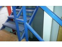 Mezzanine floor 6m/9m unassemled ready to collect