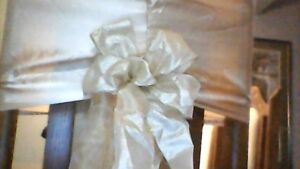 wedding chair covers REDUCED .50 cents  each