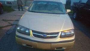 2004 Chevrolet Impala -  For Repairs (REDUCED)