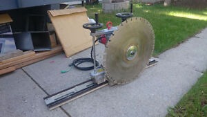 ELECTRIC WALL CONCRETE CUTTER