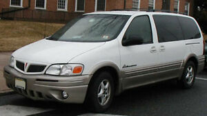 2002 Pontiac Montana NOT DRIVABLE