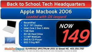 BACK TO SCHOOL - Apple Macbook 2006
