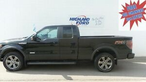 2013 Ford F-150 4X4 SUPER CAB FX4