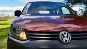 2011 Volkswagen Caddy 2K MY12 TDI250 Wagon Life SWB DSG Startline Lava Red 7 Speed Tanunda Barossa Area Preview