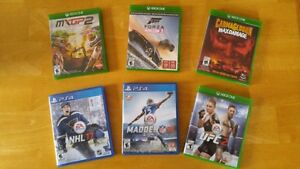 DIVERS JEUX XBOX ONE PLAYSTATION 4 PS4
