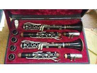 Pair of Selmer clarinets