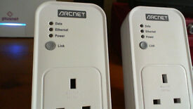 i have two pairs of wirles powerlines one is the other is drcnet