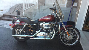 Harley Sportster XL 1200C 2010 a vendre