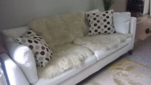 NEW IKEA WHITE COUCH