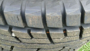 265/70 R 17 winter tires 99% tread