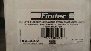Finitec Cleaning Kit for Ceramic Floors...NEW in boxes (2) Kitchener / Waterloo Kitchener Area image 3
