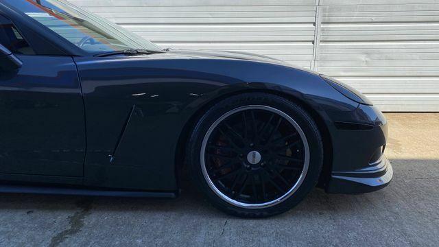 2007 Black Chevrolet Corvette Coupe  | C6 Corvette Photo 5