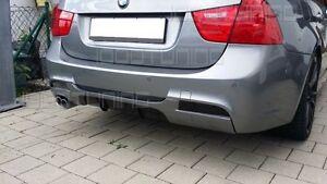 BMW 3er E90 E91 Heckdiffusor Diffusor Performance für M-Paket Stoßstange