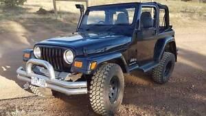 2006 Jeep Wrangler LIFTED / SNORKEL PLUS MORE Melton Melton Area Preview