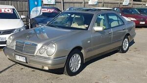 1997 Mercedes-Benz E230 W210 Elegance Silver 5 Speed Automatic Sedan Maidstone Maribyrnong Area Preview