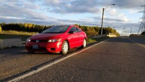 2007 Honda Civic DX-G Coupe (2dr) Safetied with Winter Tires