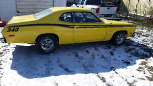 1974 plymouth duster ..TRADE FOR LAND